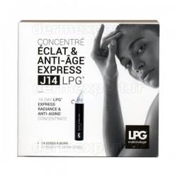 Concentré Éclat & Anti-Âge Express J14 LPG - Etui 14 Unicadoses 10ml