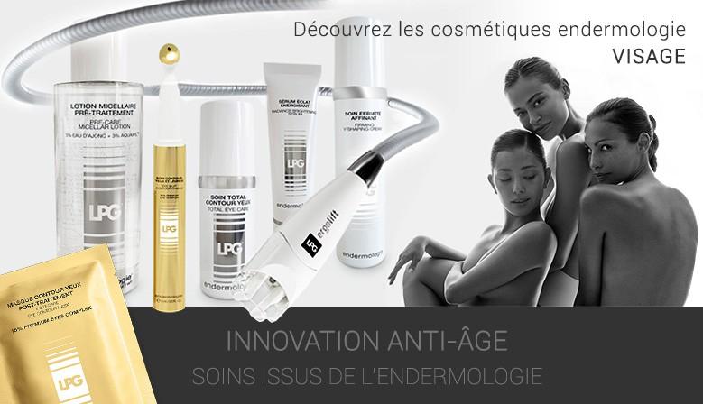 Découvrez les cosmétiques endermologie Visage !