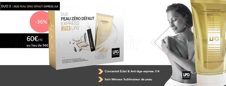 DUO 3 : Duo Peau Zéro Défaut Express J14 !